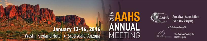 AAHS Annual Meeting